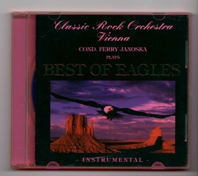 (JE397) Classic Rock Orchestra Vienna, Best Of Eagles Instrumental - 1997 CD