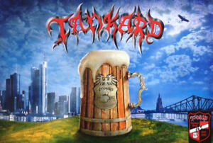 TANKARD-25th-Anniversary-Fan-Box-2007-Pic-Vinyl-T-Shirt-Poster-CD-Beer-Glass