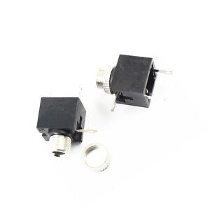 20pcs 3.5mm Female Connector 3 Pin Headphone Jack Socket Mono Channel PJ-301M.RZ