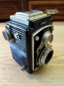 Appareil photo 6x6 Fex bi-objectif