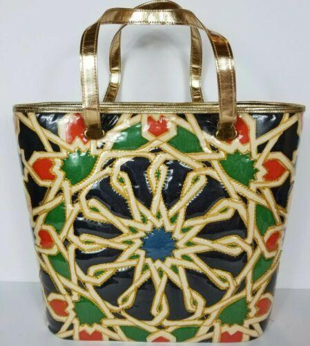 Vintage Delill Creations  Purse Handbag Moroccan T