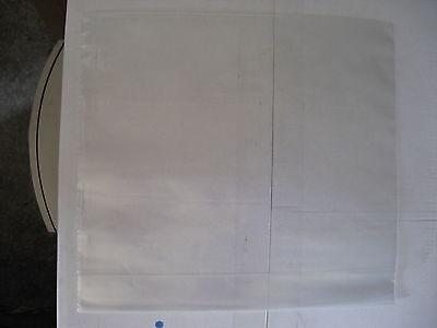 100 Sacchetti Trasparenti Nylon Per Camicie Bambino 24 X 22 Cm Con Soffietti