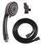 Adjustable Shower Head 5 Function Bathroom Hand Held With Hose Oil Rubbed bronze