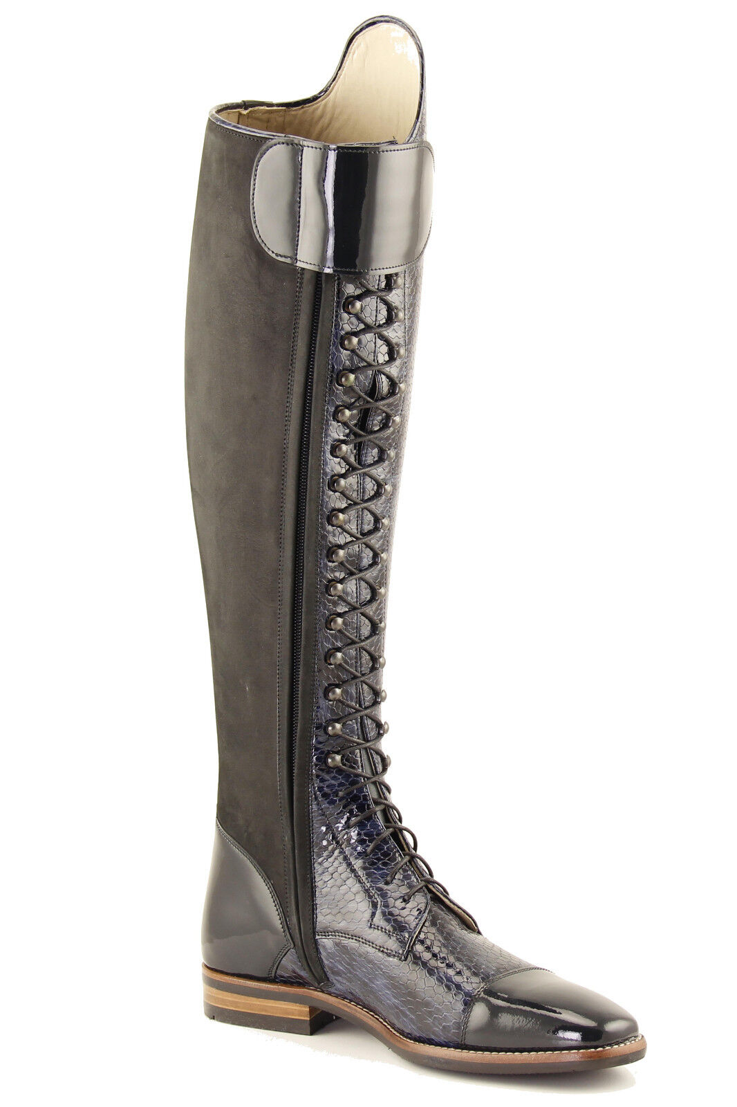 PETRIE Florance  Stiefel -All -All Stiefel Größes - NEW  Front Laces and Zipper bc2679