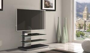 Mobili Porta Tv Munari Prezzi.Mobile Munari Sy434ge Porta Tv A 55 Pollici Acciaio Inox Grigio 2 Ripiani