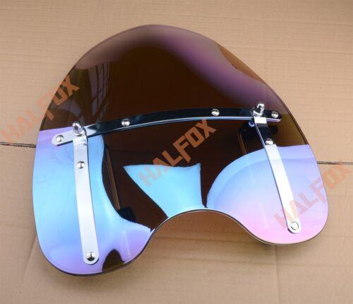 "1/""  25 Windscreen Windshield For Harley Davidson Dyna Roadster Softail Sportster"