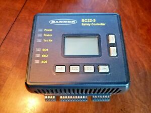 Banner SC22-3 Programmable Safety Controller