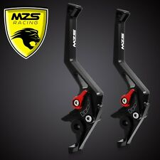 MZS CNC Brake Clutch Levers For Kawasaki ZX6R/Z1000 2007-2012/ZX10R 2006-2012