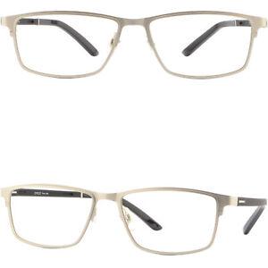 Leichte Damen Herren Brille Vollrand Brillengestell Fassung Rechteckig Schwarz gRr9d