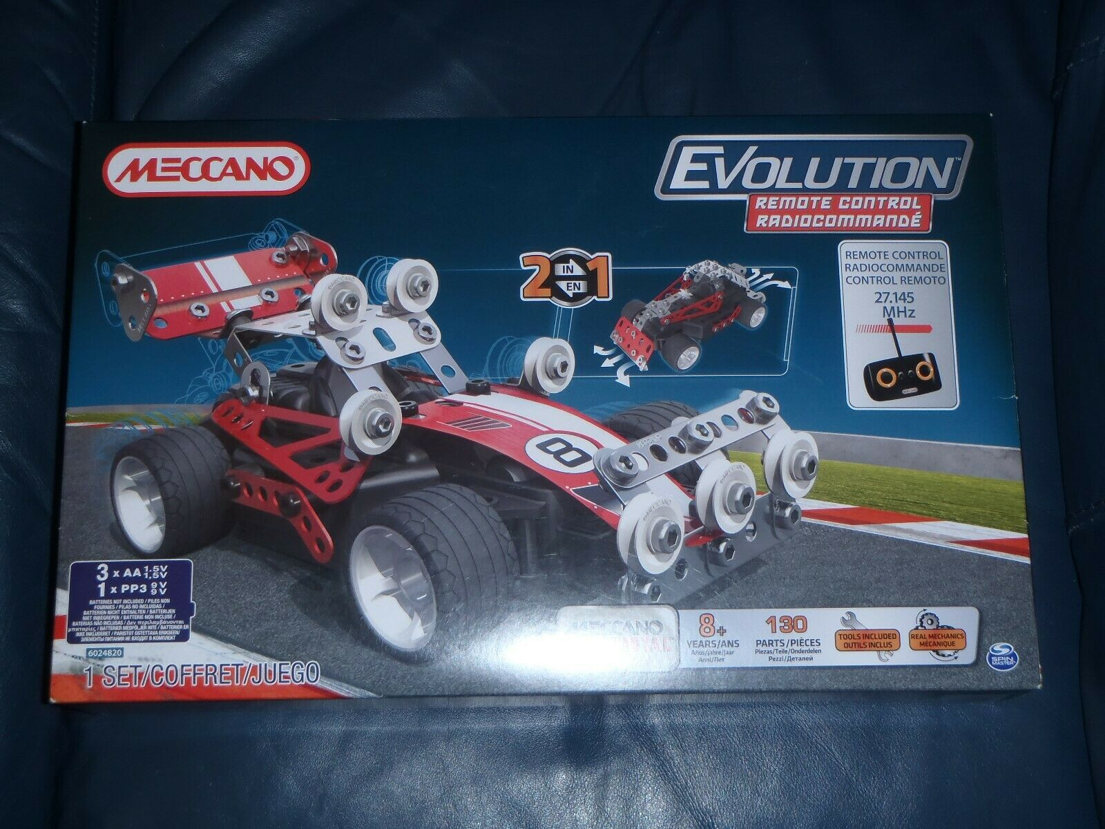 Meccano Set - Remote Control Evolution Car 2 in 1 6024820   NEW + SEALED