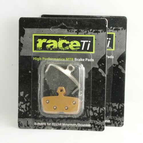 Avid Code R 2011 onward Hydraulic Disc Brake Pad Shoe Sintered raceTi guarantee