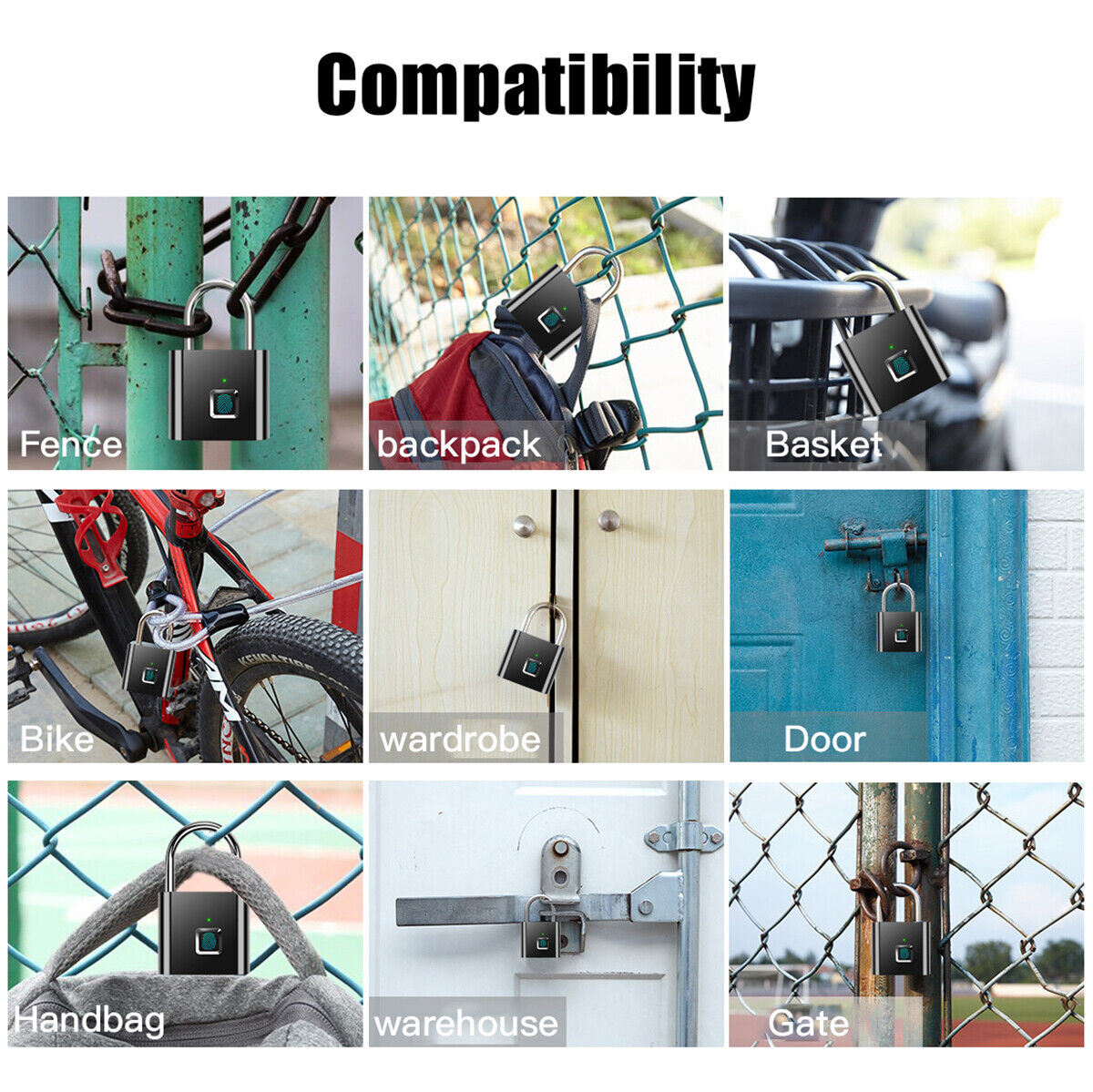 SMART ANTI-THEFT KEYLESS SECURITY W/USB CABLE