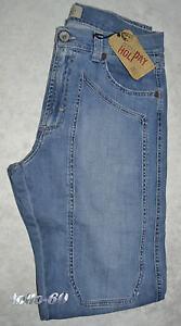 Blu Taglia Pantalone Delavè 54 Comodo Uomo Novità Holiday Jeans Elasticizzato gZqFAFpw