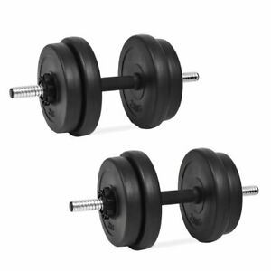 vidaXL-14-Piece-Dumbbell-Set-20kg-Gym-Exercise-Training-Fitness-Free-Weight