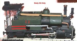 Darjeeling-Himalayan-Tank-Loco-009-BODY-I1-UNPAINTED-OO-Scale-Langley-Models-Kit