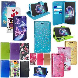 Per Alcatel 1X Portafoglio Pelle PU Antiurto Stand Flip Telefono Cover Custodia Magnetica