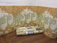 4 Rolls Of Vintage Sanderson Wallpaper take A Gander Nursery / Childs Bedroom