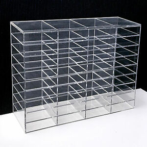 9f25c8df16c Image is loading LashArt-Clear-Acrylic-Eyelash-Extensions-Display-Stand- Storage-