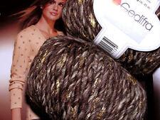 700g Fashion Trend Gold GEDIFRA Schachenmayr WOLLE Merino Braun Natur Beige ecru