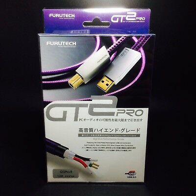 Furutech GT2 USB Cable USB-B JAPAN 1.2 m new Type A-B