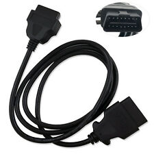 Car Extension Diagnostic Extender Cord A Klevery OBD2 OBD II 16 Pin Male to Female Diagnostic Adapter Cable