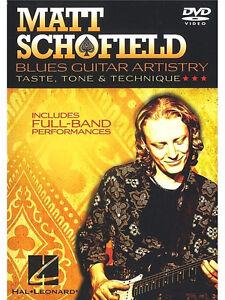 MATT-SCHOFIELD-BLUES-Guitar-ARTISTRY-DVD-Learn-to-Play-TONE-HARMONY-RHYTHM-SOLOS
