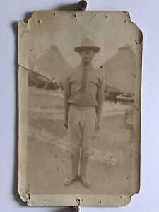 WW1-Calvary-African-American-Army-Black-Doughboy-Photo-1916-Americana-W9