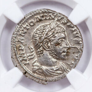 AD-218-222-Roman-Empire-Silver-Denarius-of-Elagabalus-NGC-MS-SKU57092