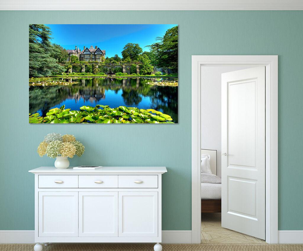 3D Himmel den Wald Teich 689 Fototapeten Wandbild BildTapete AJSTORE DE Lemon