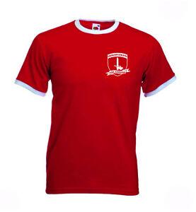 Charlton-Athletic-FC-The-Addicks-Retro-Football-Club-Shield-Tshirt-The-Valley