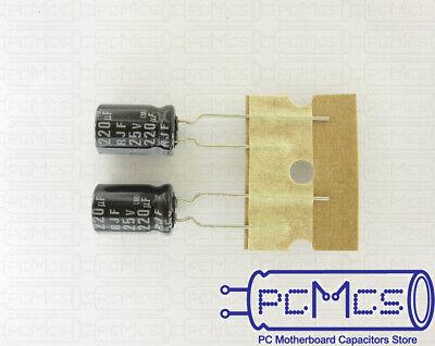 10pcs 220uF 25V Japan ELNA RJ3 8x11.5mm 25V220uF Audio Capacitor