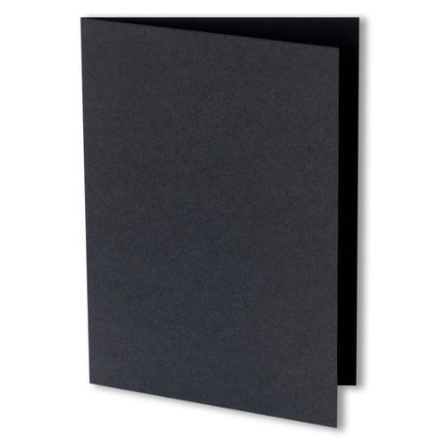 Craft UK Paquete de 5 Negro C6//A6 Tarjetas y Sobres