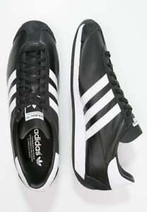 check out 13109 215cf Das Bild wird geladen Adidas-Original-Herren-Country-Og-Leder-Mode-Retro-