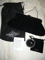 Mary Kay 2007 Holiday Wishes Velvet Charity Purse - Clutch + Dust Bag 12 X 5