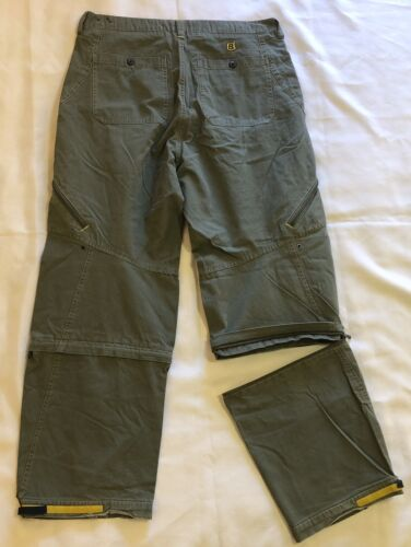 Bugle Boy Pants Men 36x30 Green Casual Work Conver