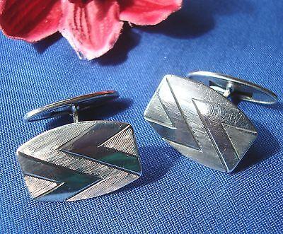 Ehrlichkeit Alte Manschettenknöpfe Aus 835 Silber Manschetten Knöpfe Cufflinks / Dd 778 SchöN Und Charmant