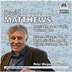 David Matthews - : Music for Solo Violin, Vol. 1 (2013)