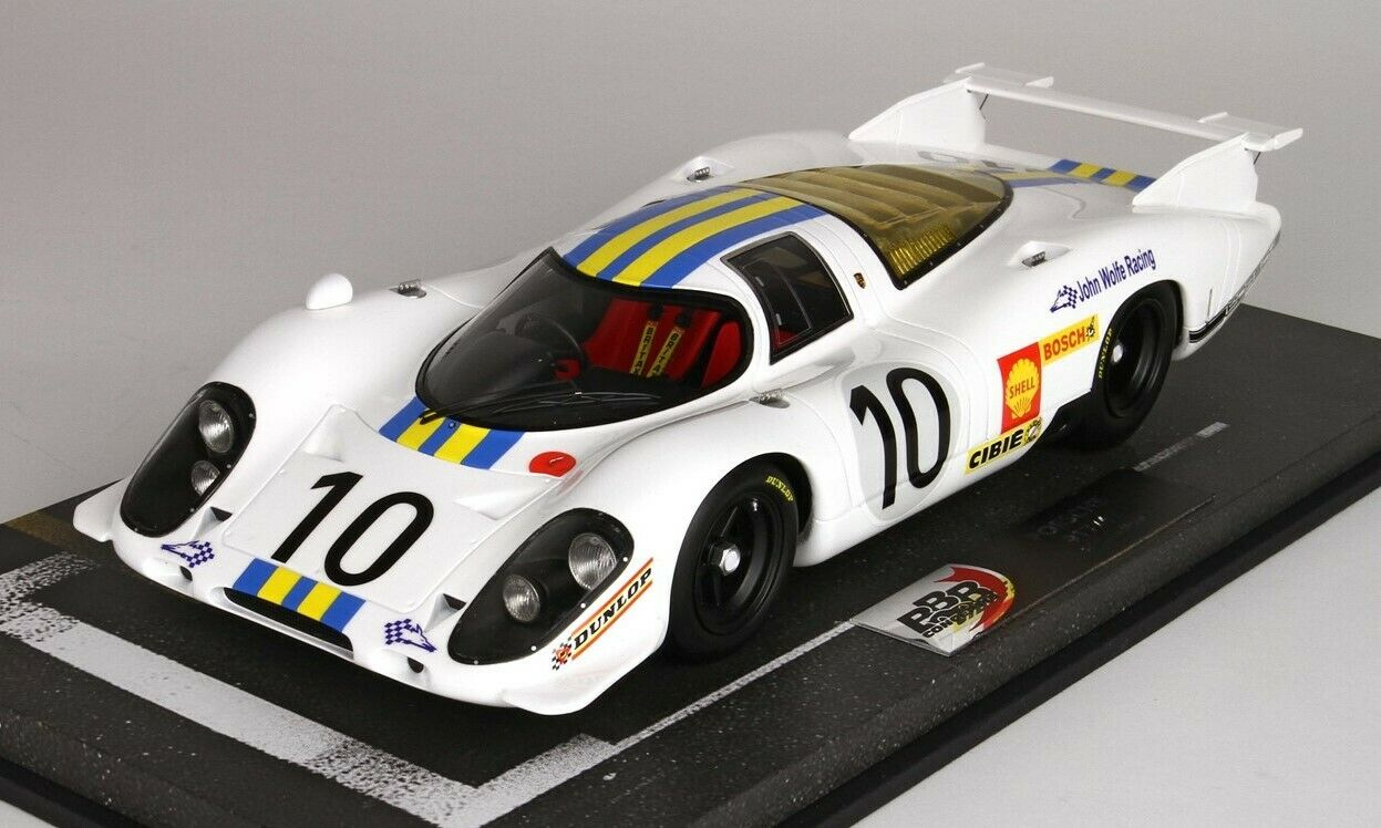 PORSCHE 917 LH John Wolfe Racing Le Mans 1969 limitée BBR 1833e 1 18 NEUF