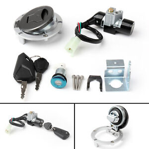Ignition Switch Fuel Gas Cap Cover Seat Lock Key Set for Honda CB1000 1993-1997
