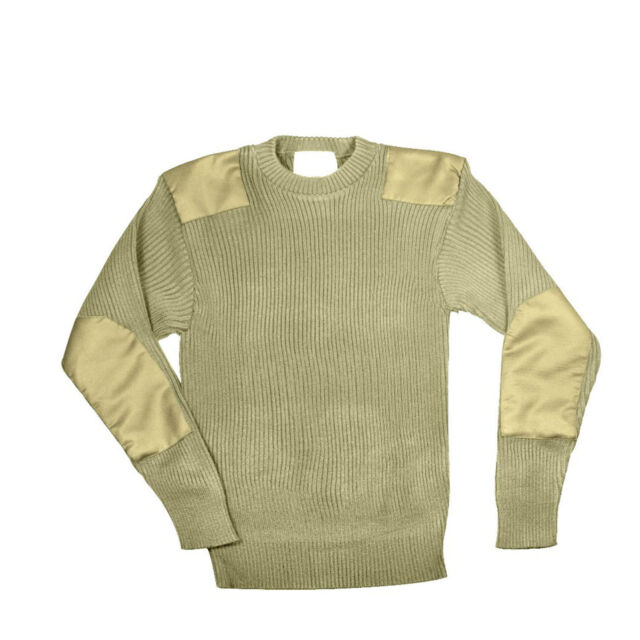 COMMANDO SWEATER MILITARY STYLE  COLORS S,M,L,XL,2X,3X