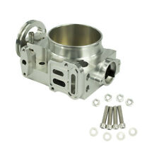 70mm Aluminum Intake Manifold Throttle Body For 02 05 Subaru Wrx Sti Ej20 Ej25