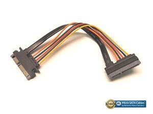 Sata Iii Sata 3 Male To Female 5 Wire 6 Inch Extension