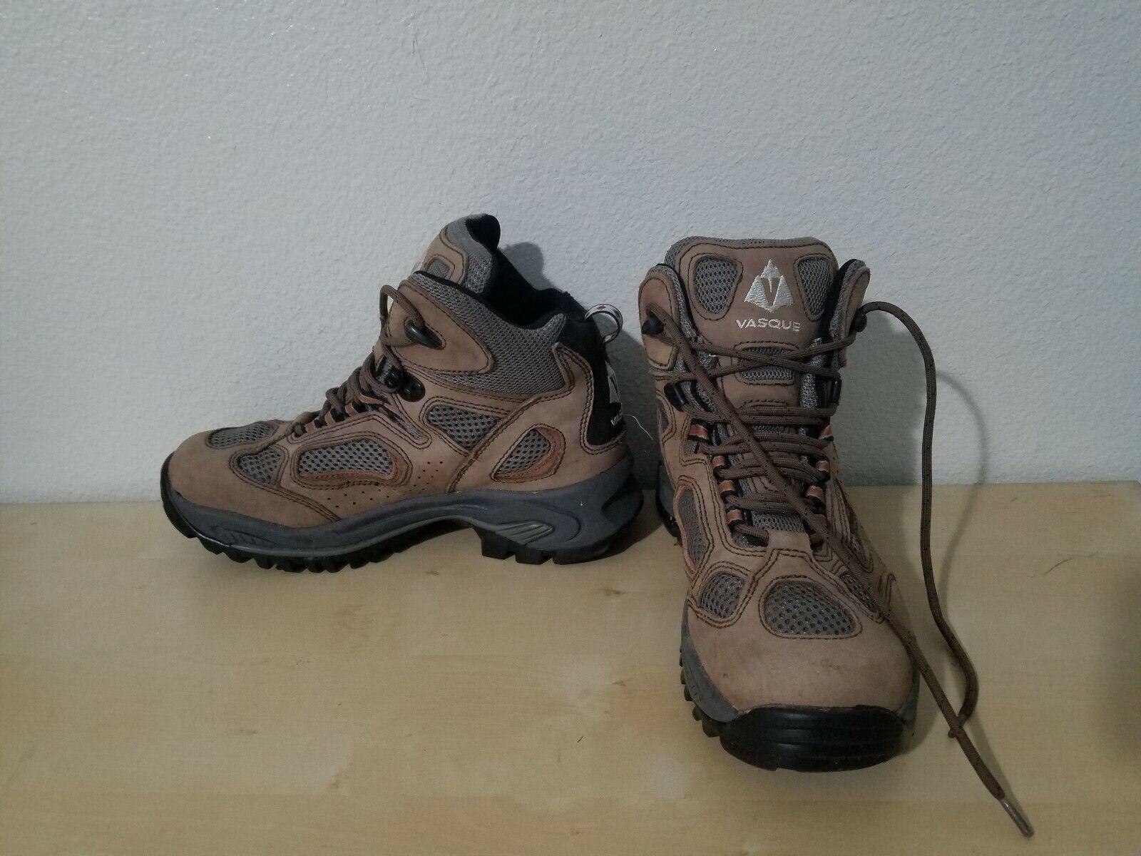 Vasque Breeze 7466 Mens Sz 7 M US Hiking Trail Boots Leather Gore-Tex Waterproof