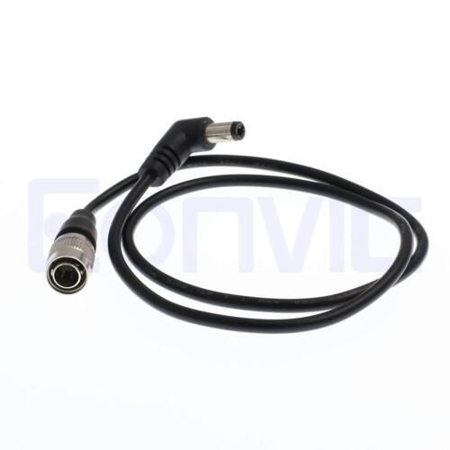 Sony Cámara Hirose 4 Pin 2.1mm Luz de Monitor de vídeo Cable de alimentación de CC