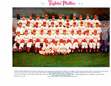 1950 PHILADELPHIA PHILLIES TEAM PHOTO BASEBALL ASHBURN ROBERTS LOPATA HOF USA