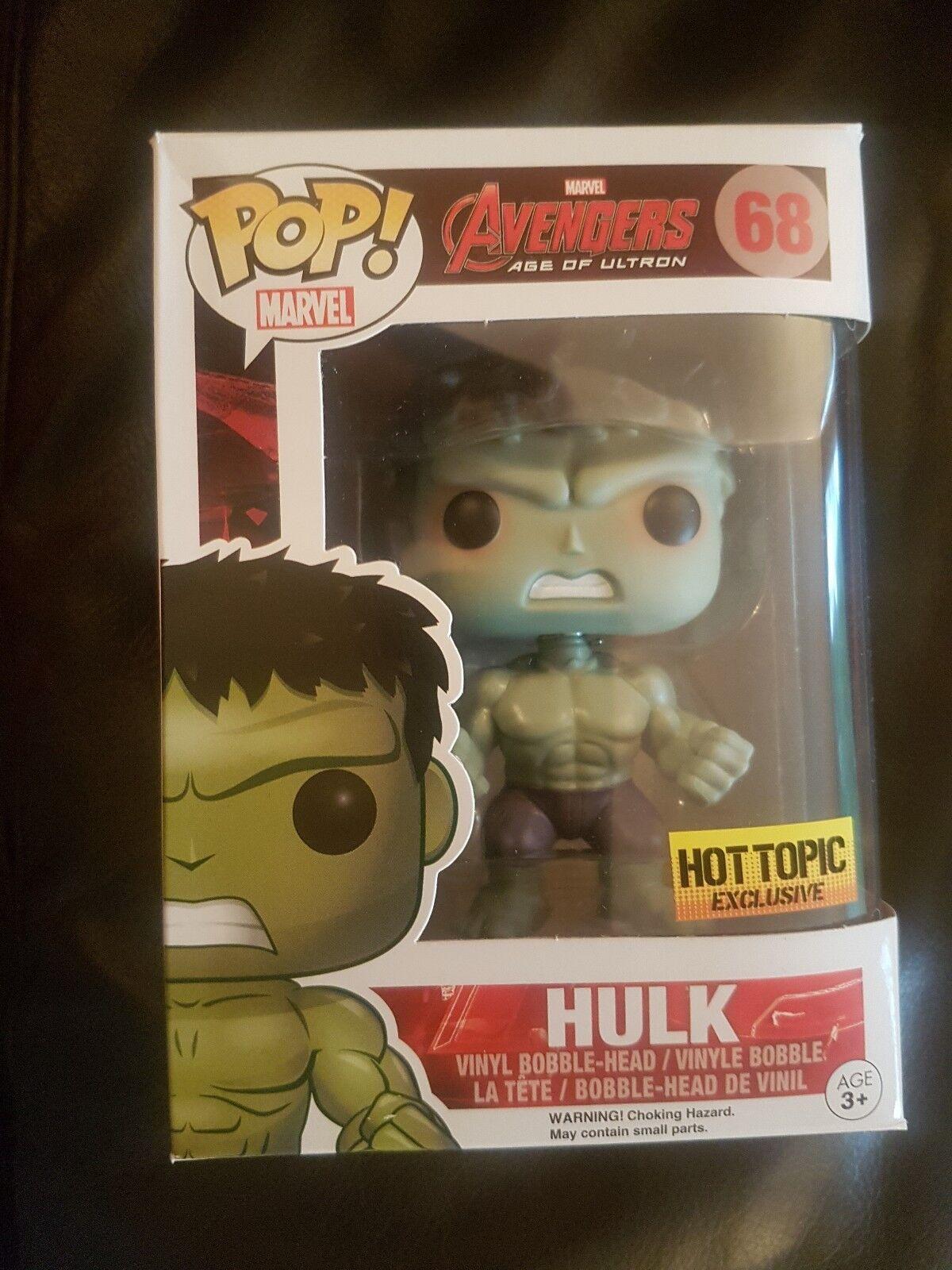Funko POP Hulk Age of Ultron Hot Topic Exclusive