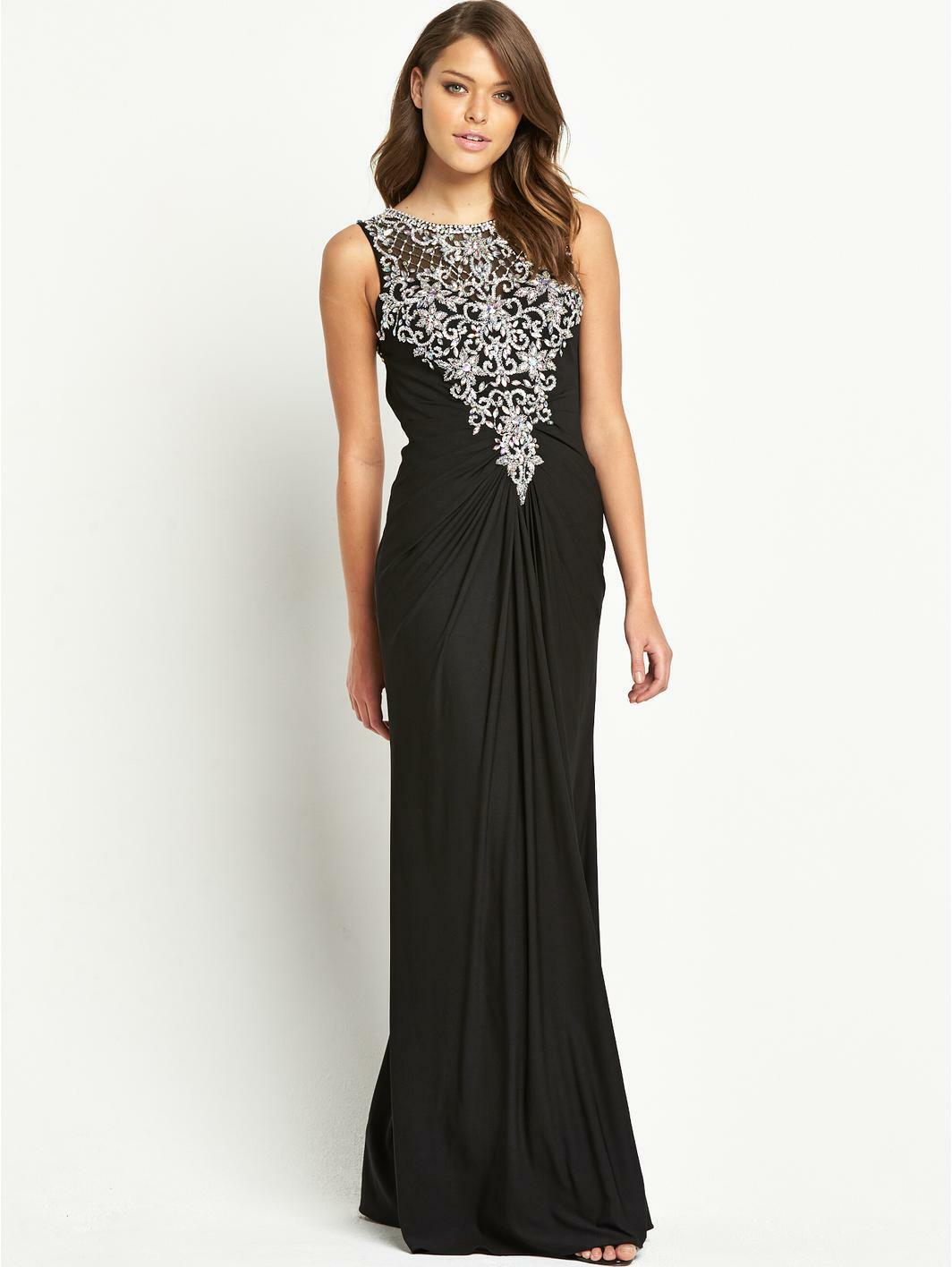 NEW Forever Unique Ariel Prom Gown Dress  Size UK8 RRP