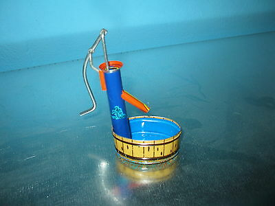 Kleine Wasserpumpe, Blech