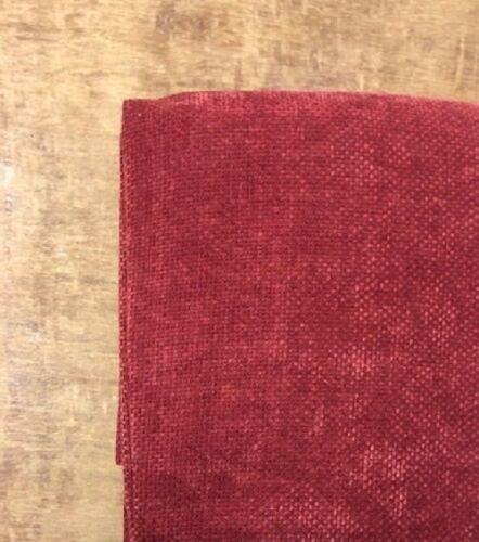 Rose poudré /& Red Berry Lourd Chenille Sandown Bande Haut Rideaux Doublés
