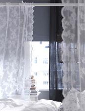IKEA Gardine Alvine Spets Vorhang Dekoschal Vorhänge Landhaus Shabby Gardinen